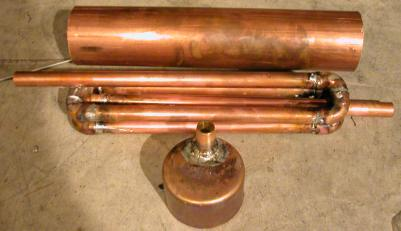 I Should Mention That You Can Make Your Own Heat Exchanger If You Have Some  Patience And Brazing Skills. Hereu0027s One Example Of A Homemade One: