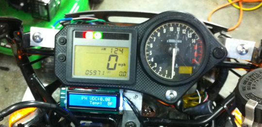 Rebuilt gauge mount