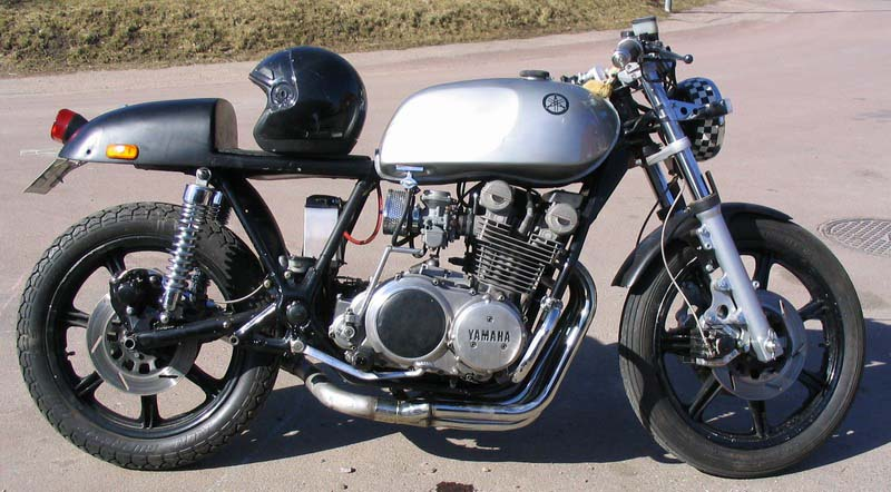 cafe 1980 xs yamaha